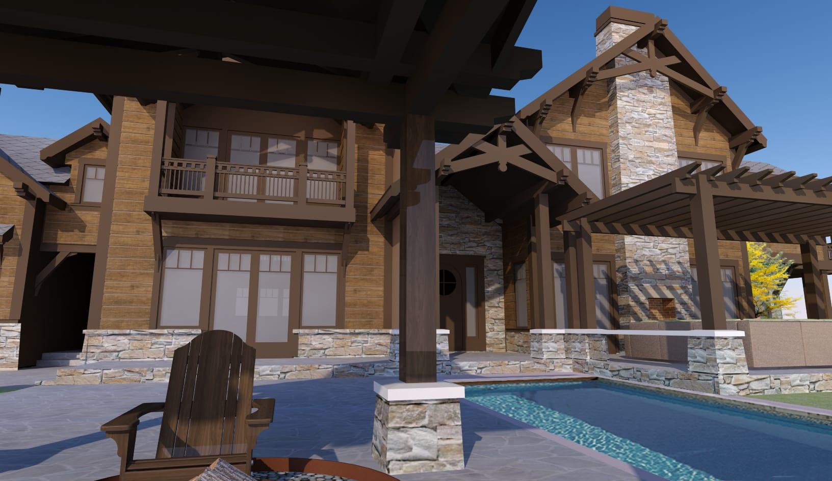 Mountain Cabin 2